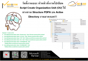Read more about the article How to Create Organization Unit (OU) บน Active Directory